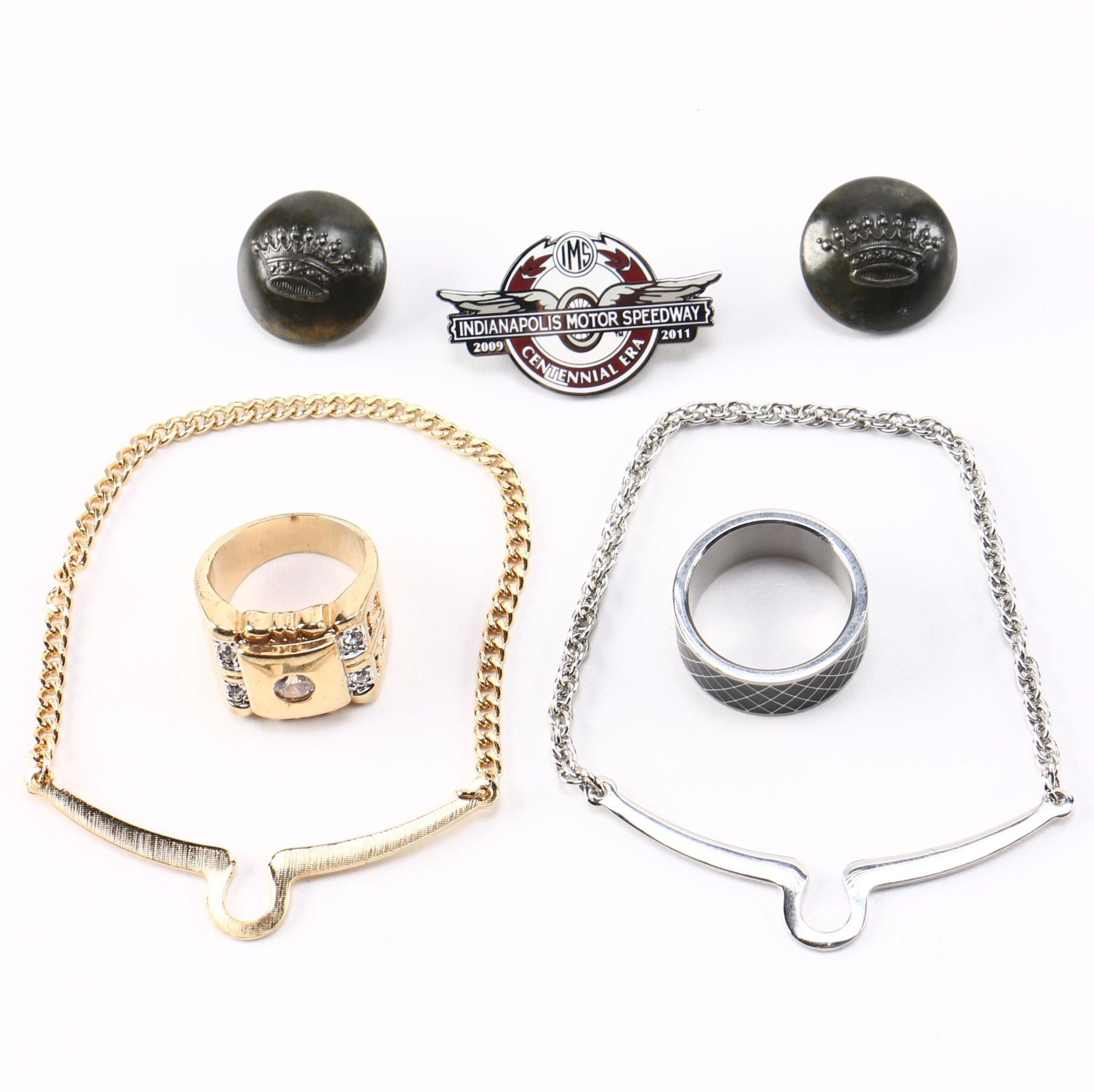 Men's Accessories and Rings