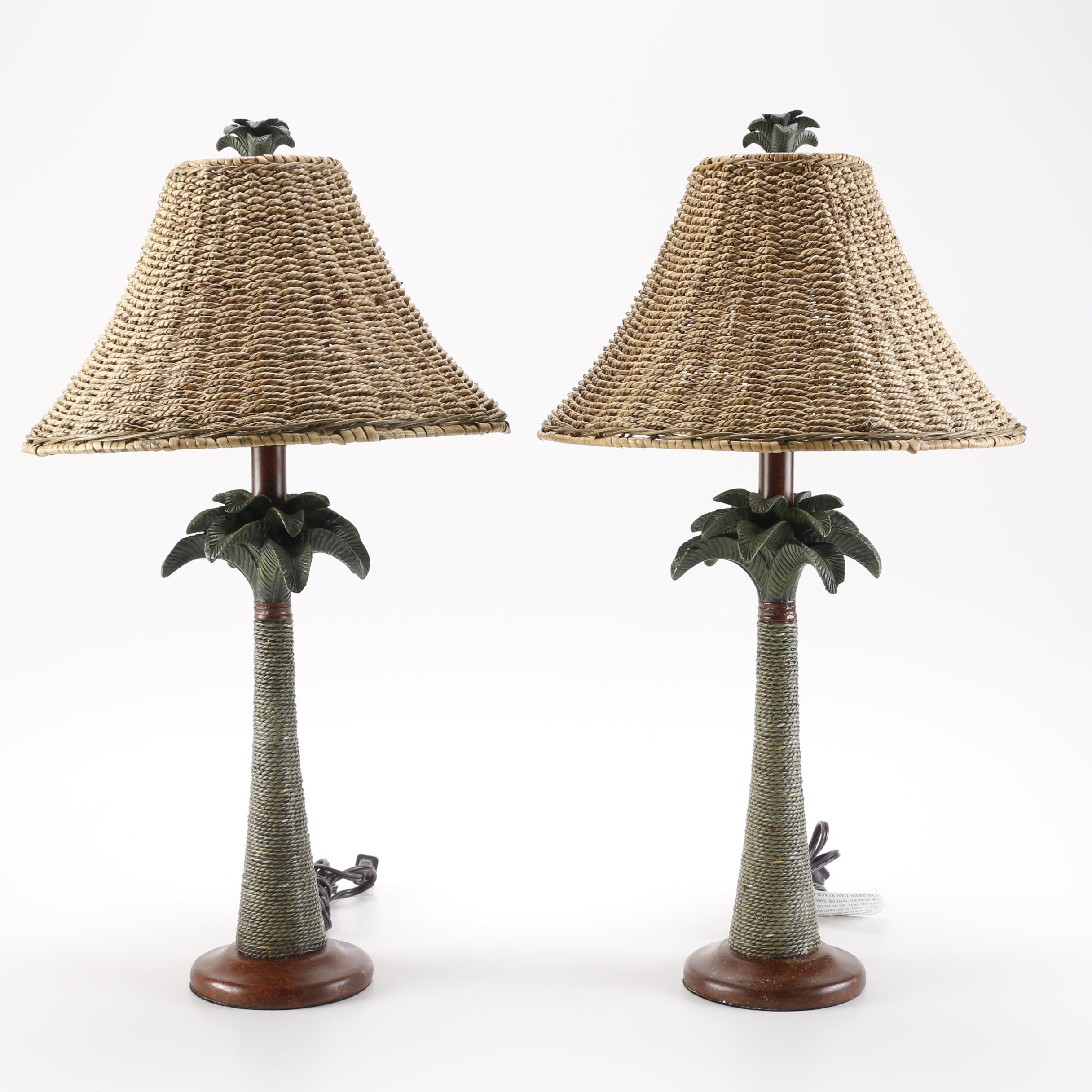 Palm Tree Table Lamps