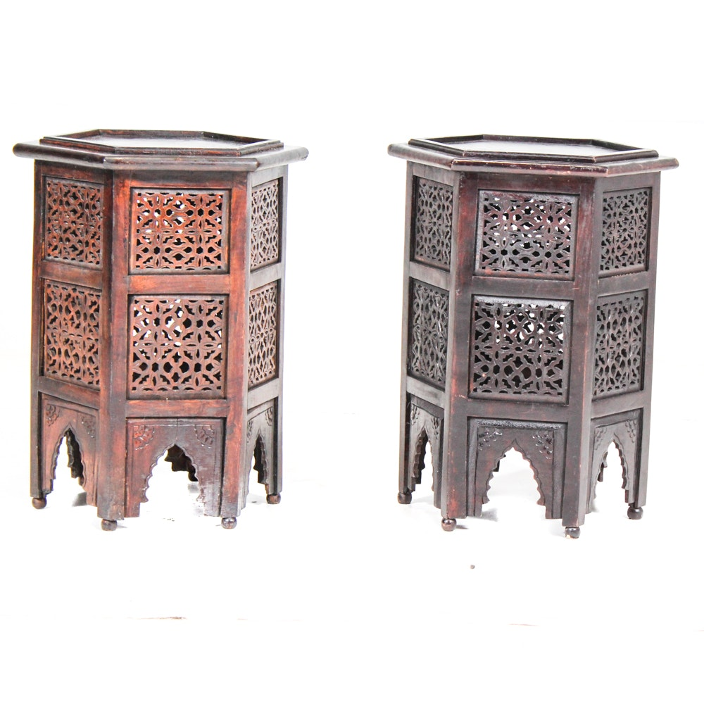Moroccan Style Accent Tables