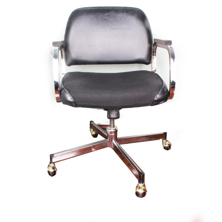Mid Century Modern Rolling Office Chair
