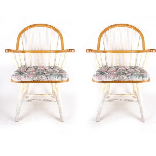 Windsor Style Armchairs