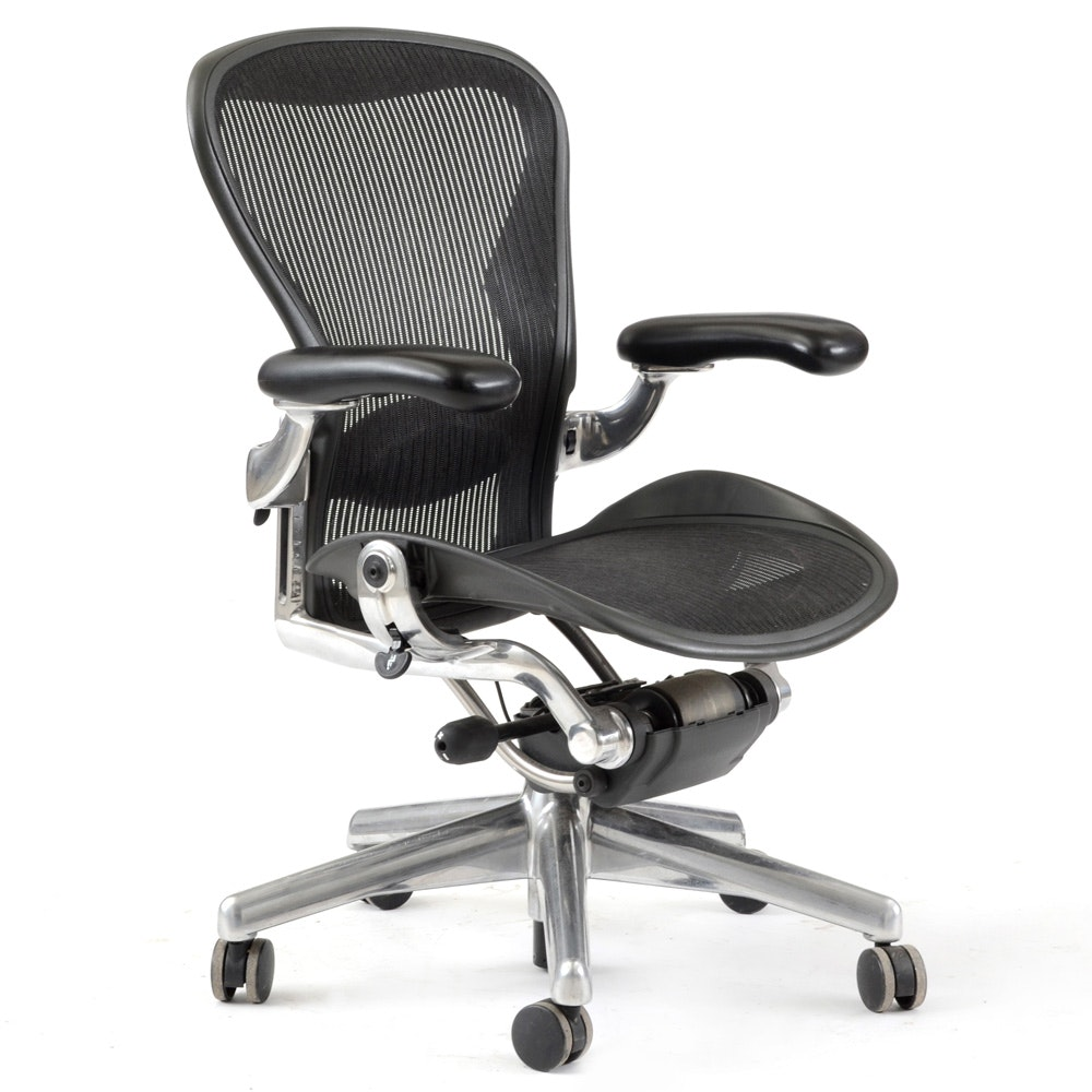 "herman miller ""aeron"" office chair : ebth"