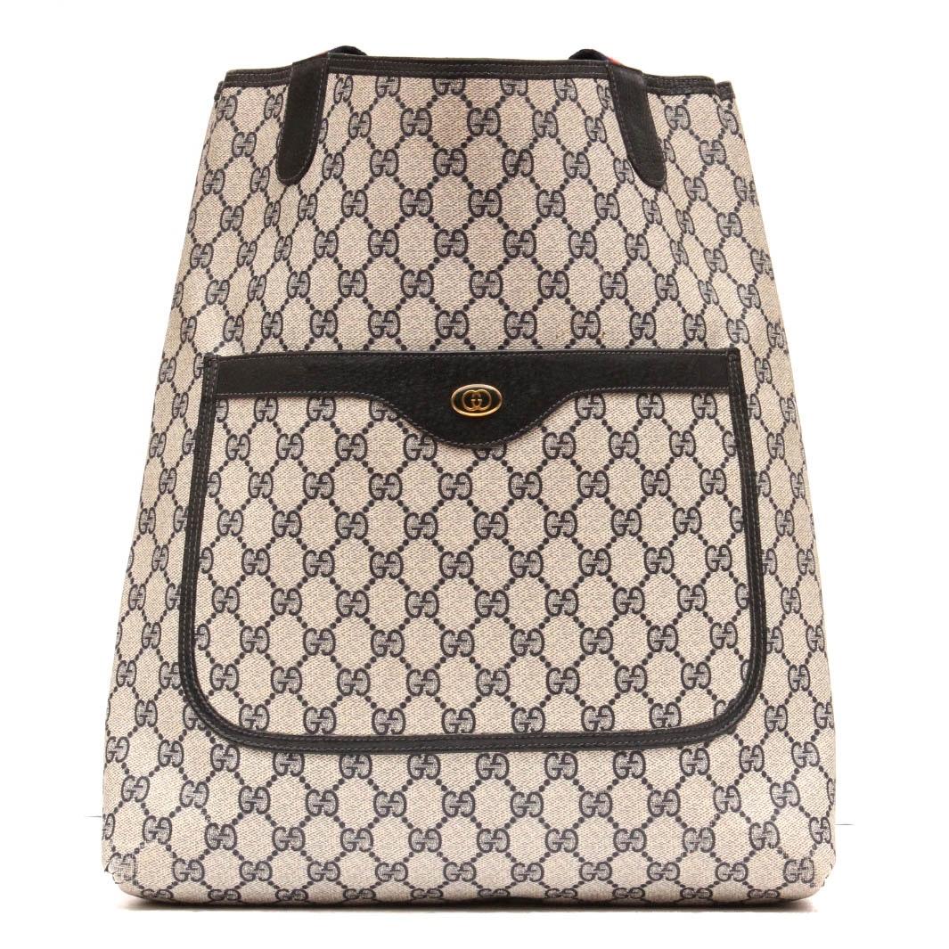 Vintage Gucci Designer Tote Bag