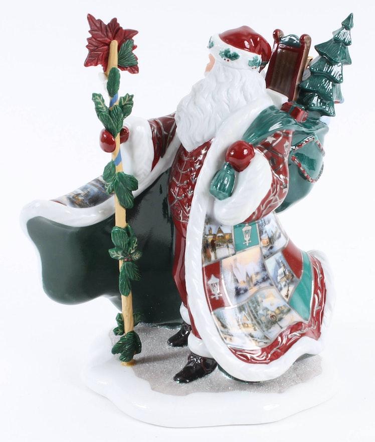 Thomas Kinkade Christmas Decor Collection   EBTH