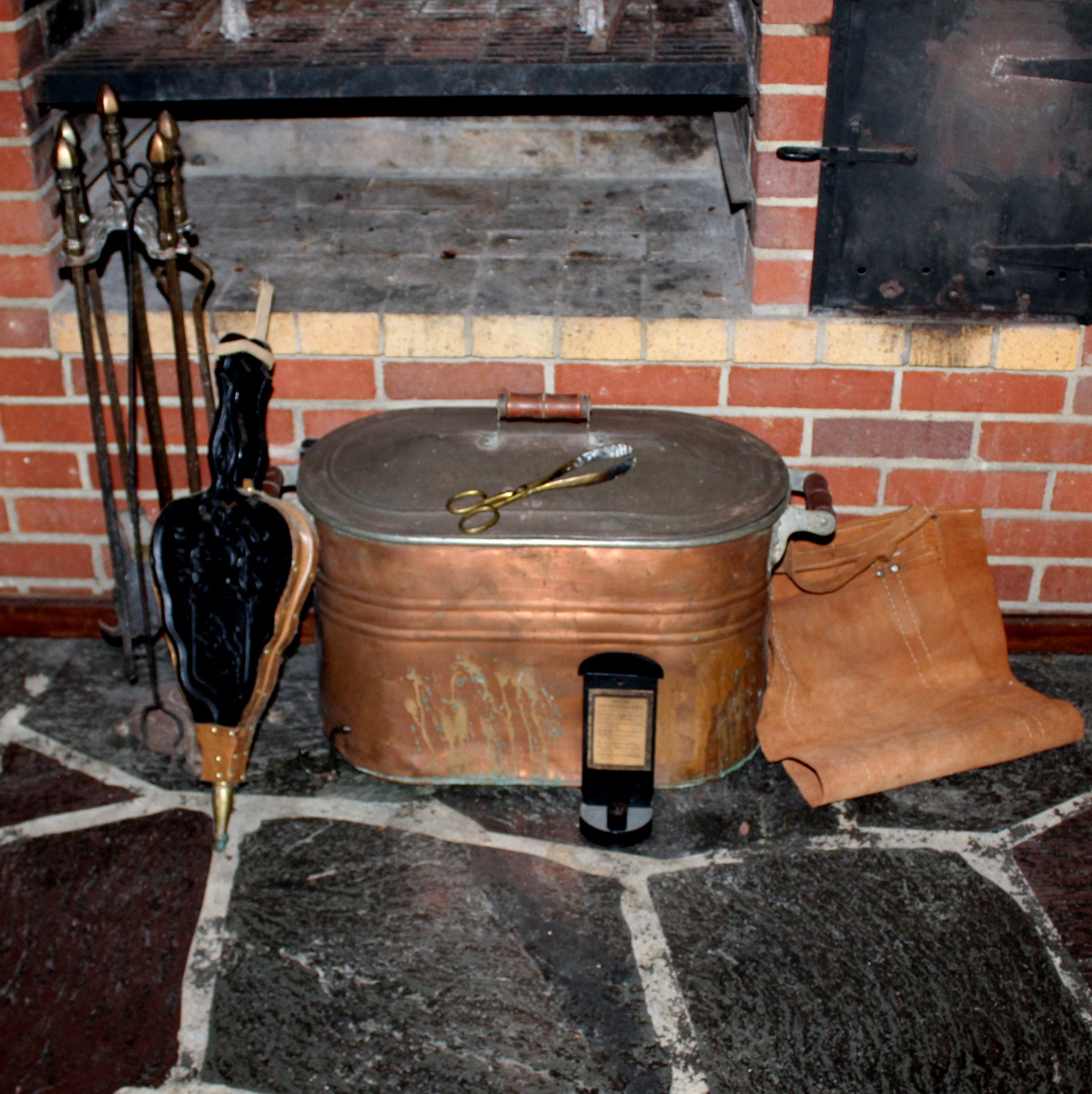 Vintage and Antique Fireplace Tools and Accessories