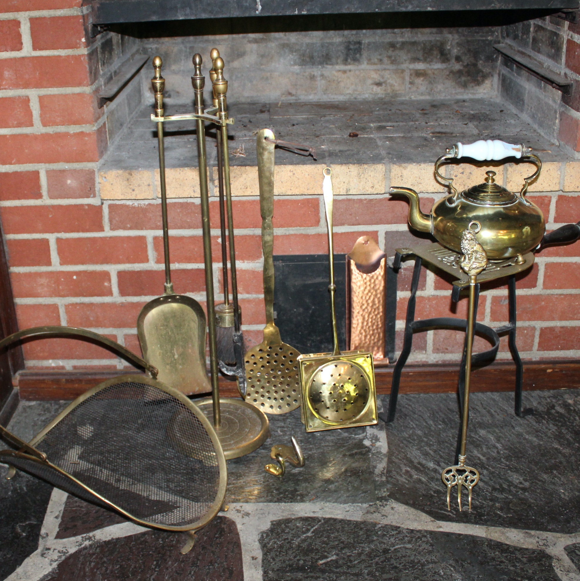 Antique and Vintage Fireplace Accessories and Tools