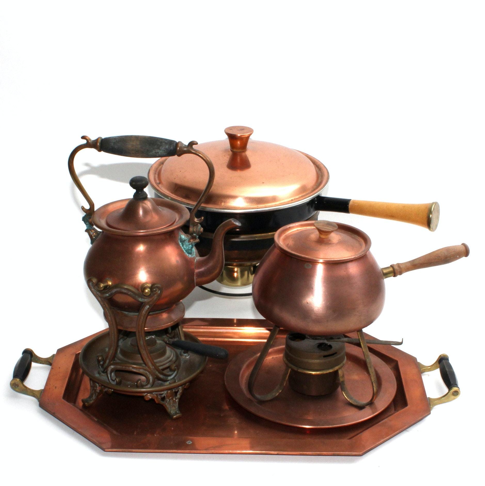 Antique and Vintage Copperware