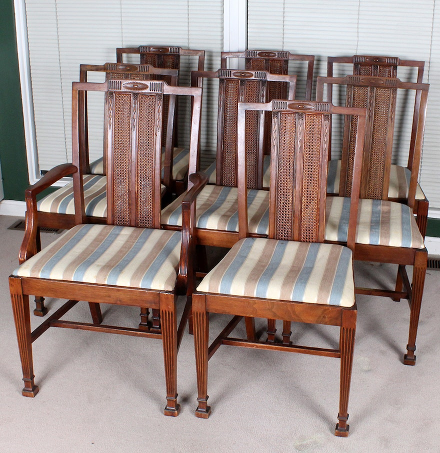 Cane Back Dining Chairs : EBTH