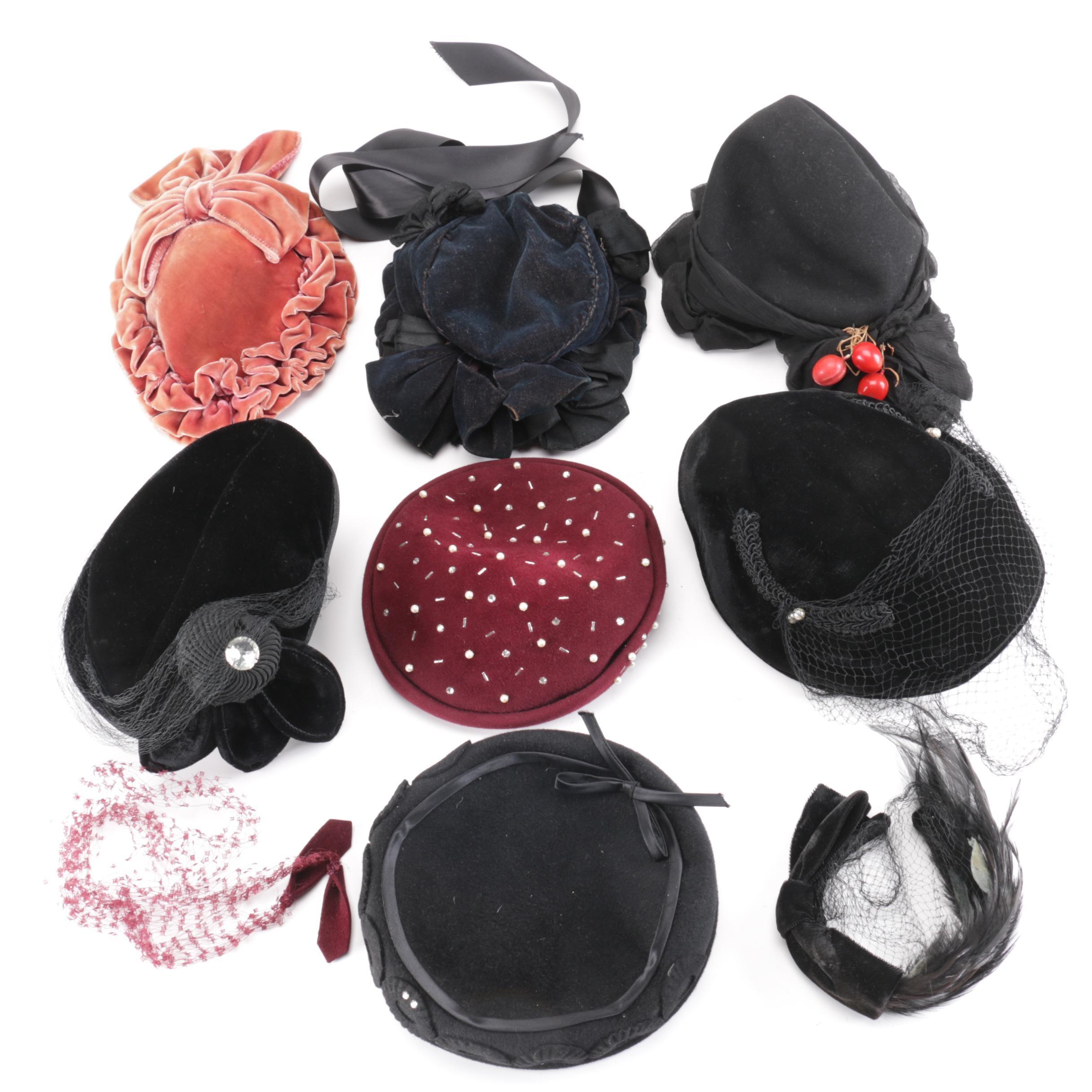 Women's Vintage Hats