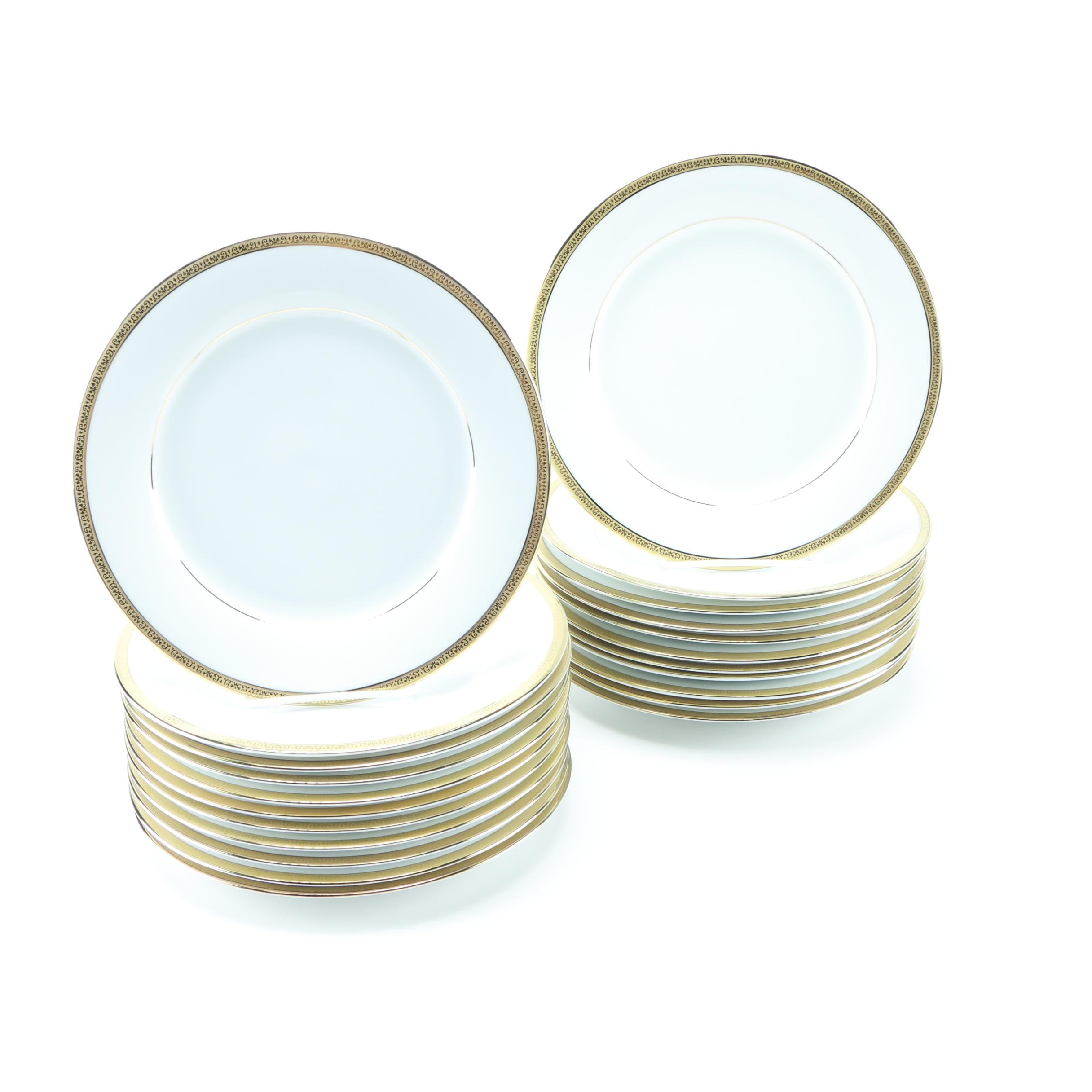 Charter Club Grand Buffet Gold Tableware Set Ebth