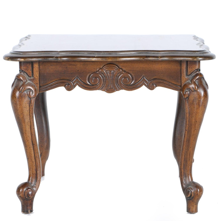 Vintage Queen Anne Style End Table