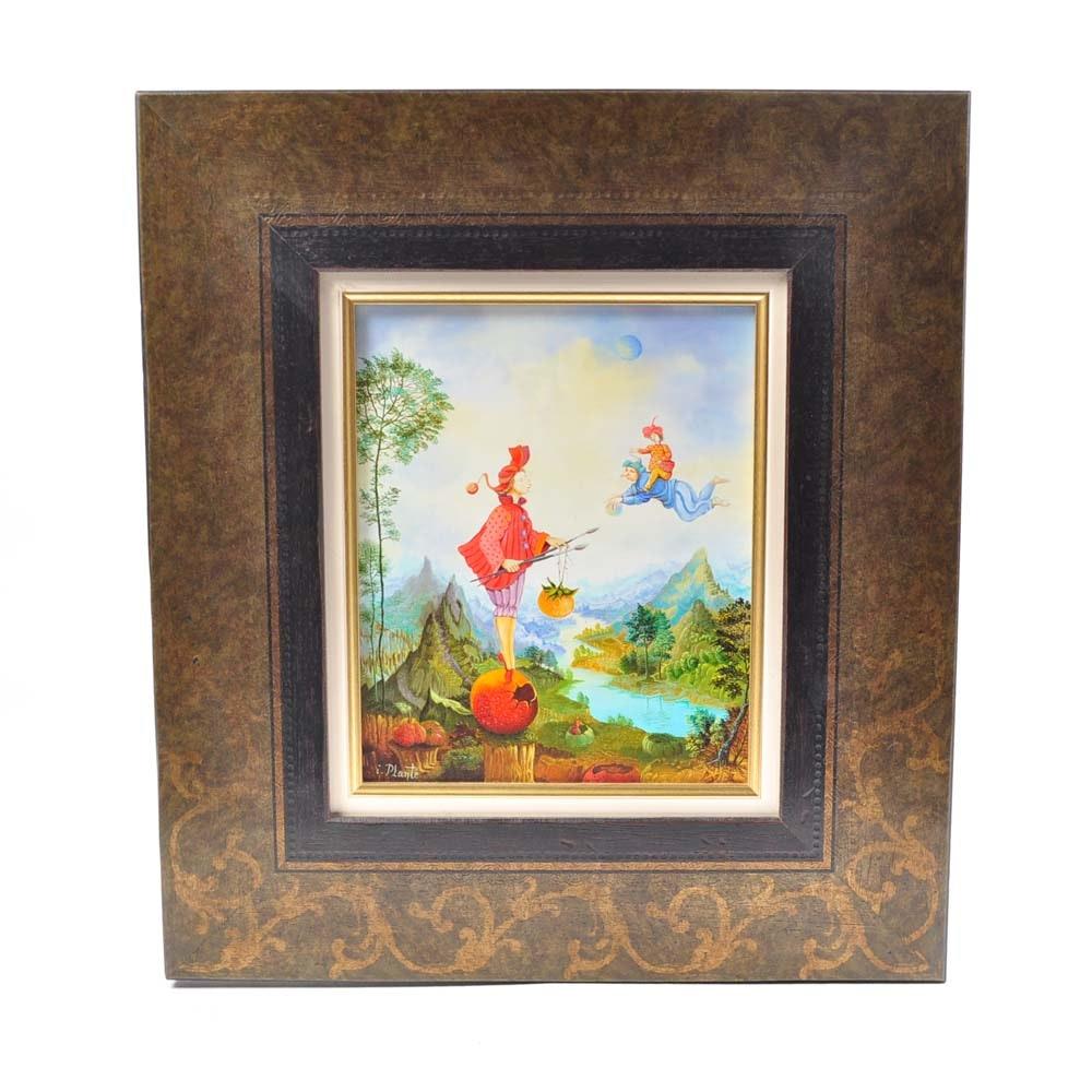"""Isabelle Planté Original Oil Painting """"Le Destin"""""""