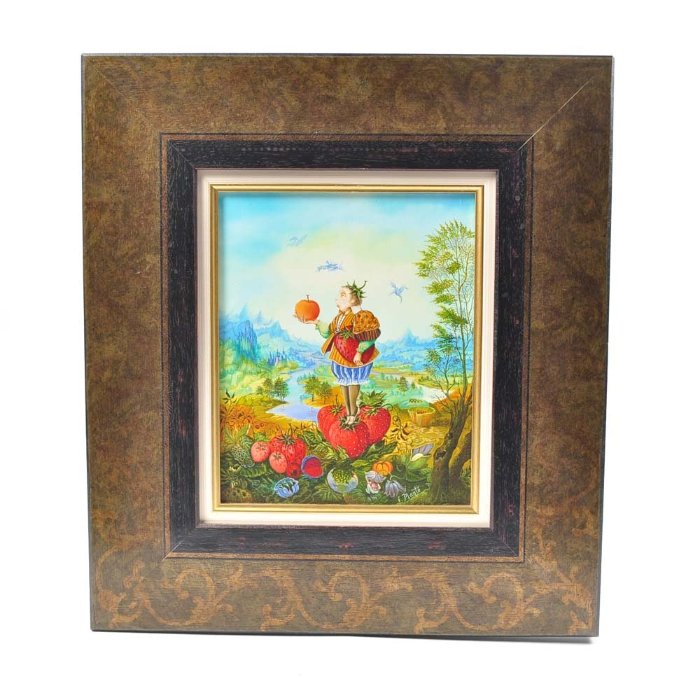 Isabelle Planté Original Oil Painting
