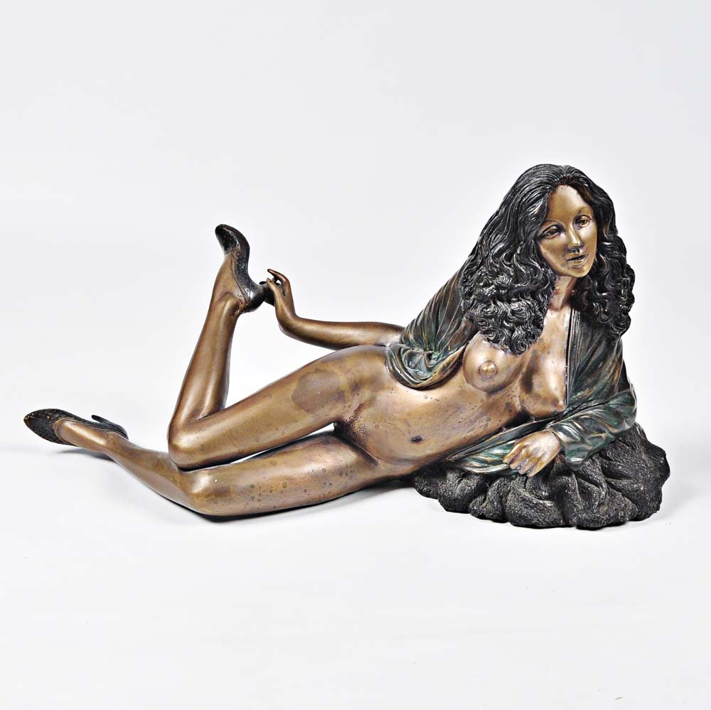 Bronze Nude Sculpture