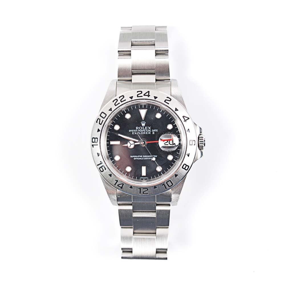 Rolex Oyster Perpetual Explorer II Wristwatch