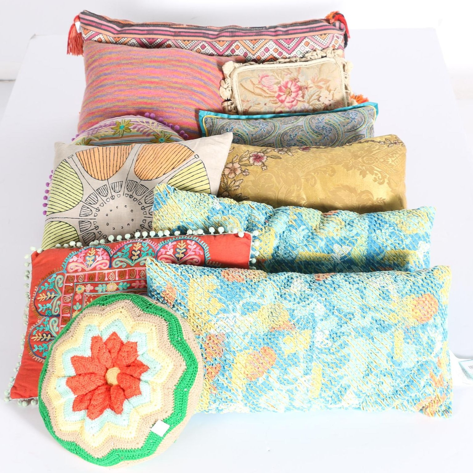 Accent Pillows Including Karma Living ...