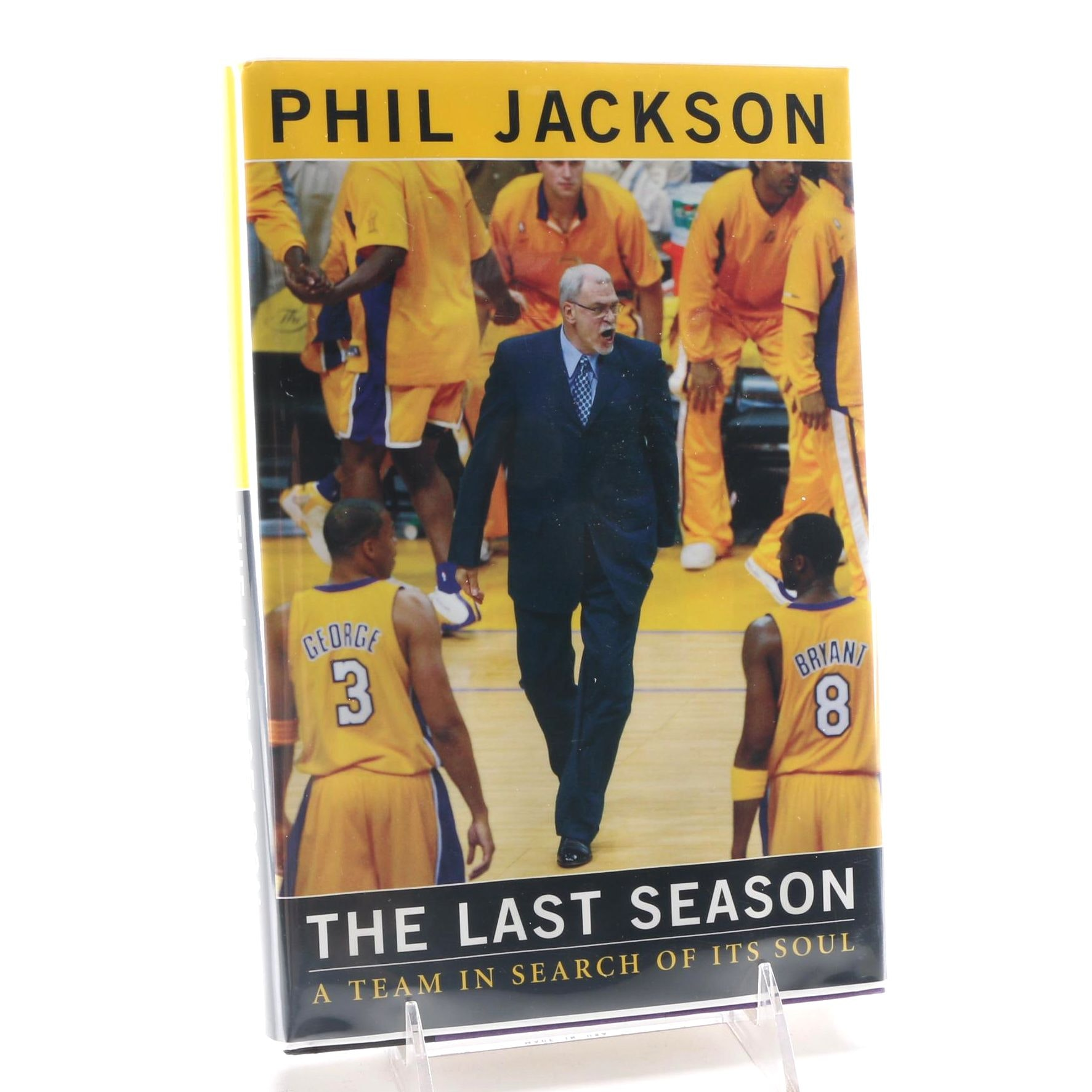 Phil Jackson Book