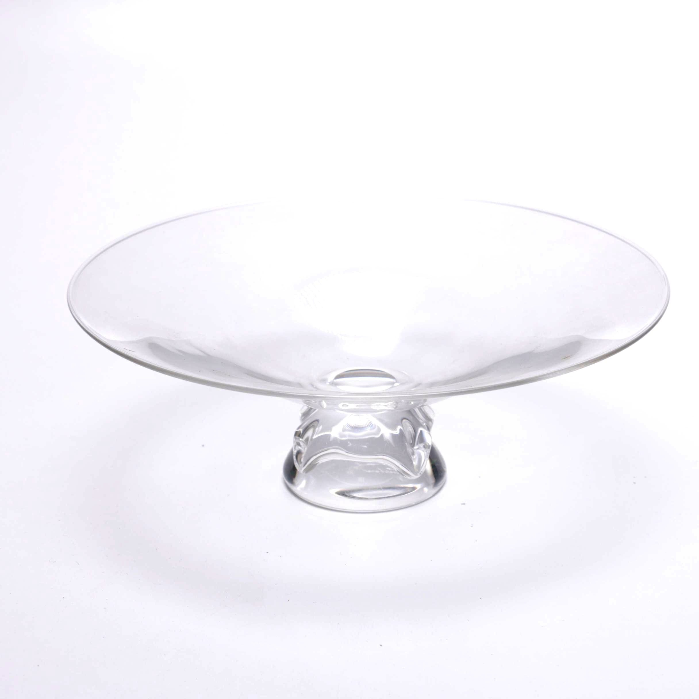 Steuben Footed Crystal Bowl
