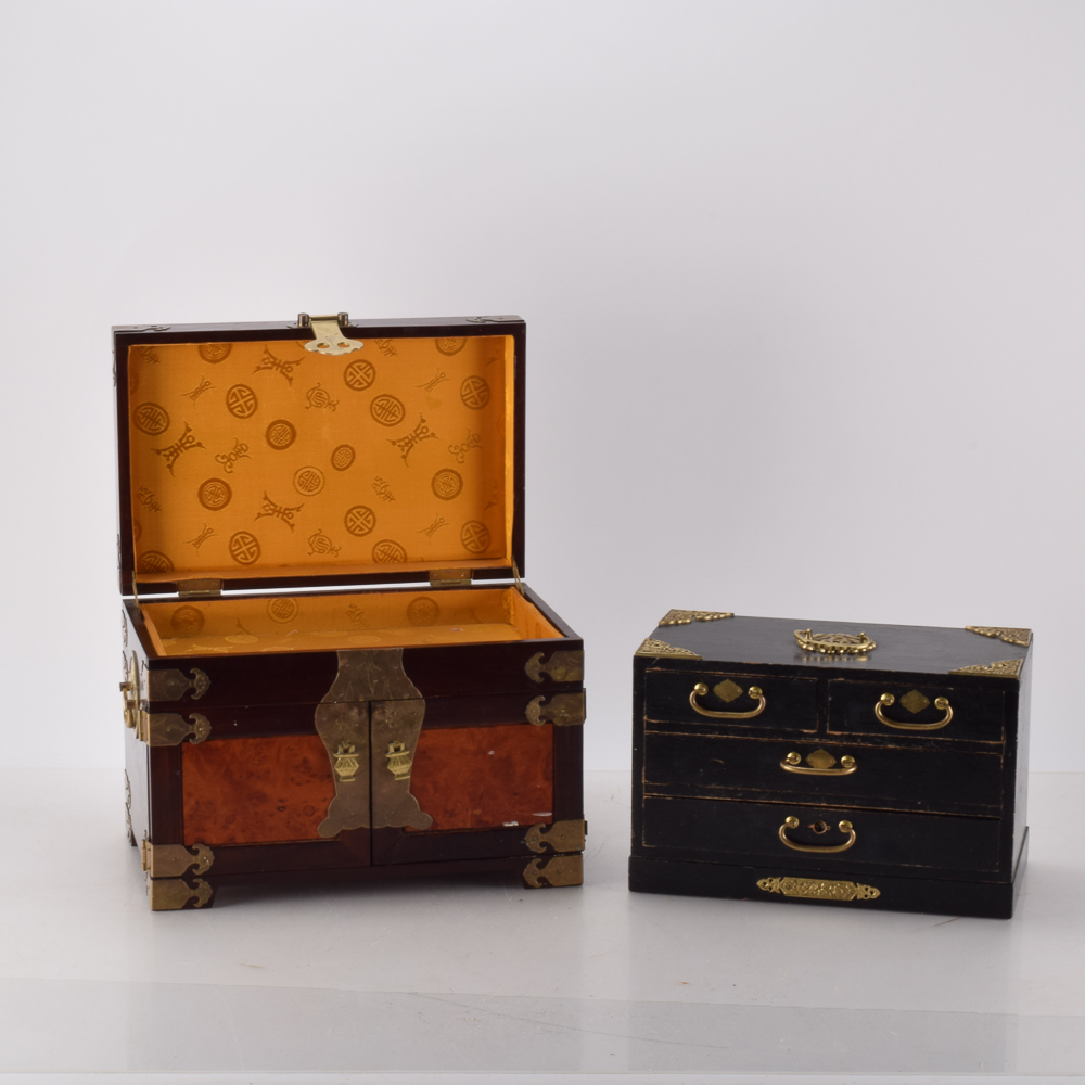 Vintage Asian Jewelry Boxes EBTH