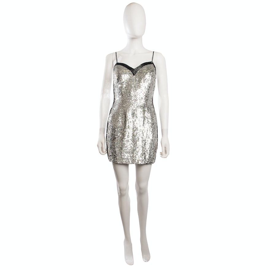 c4eea07d Naeem Khan Sequin Mini Dress | EBTH