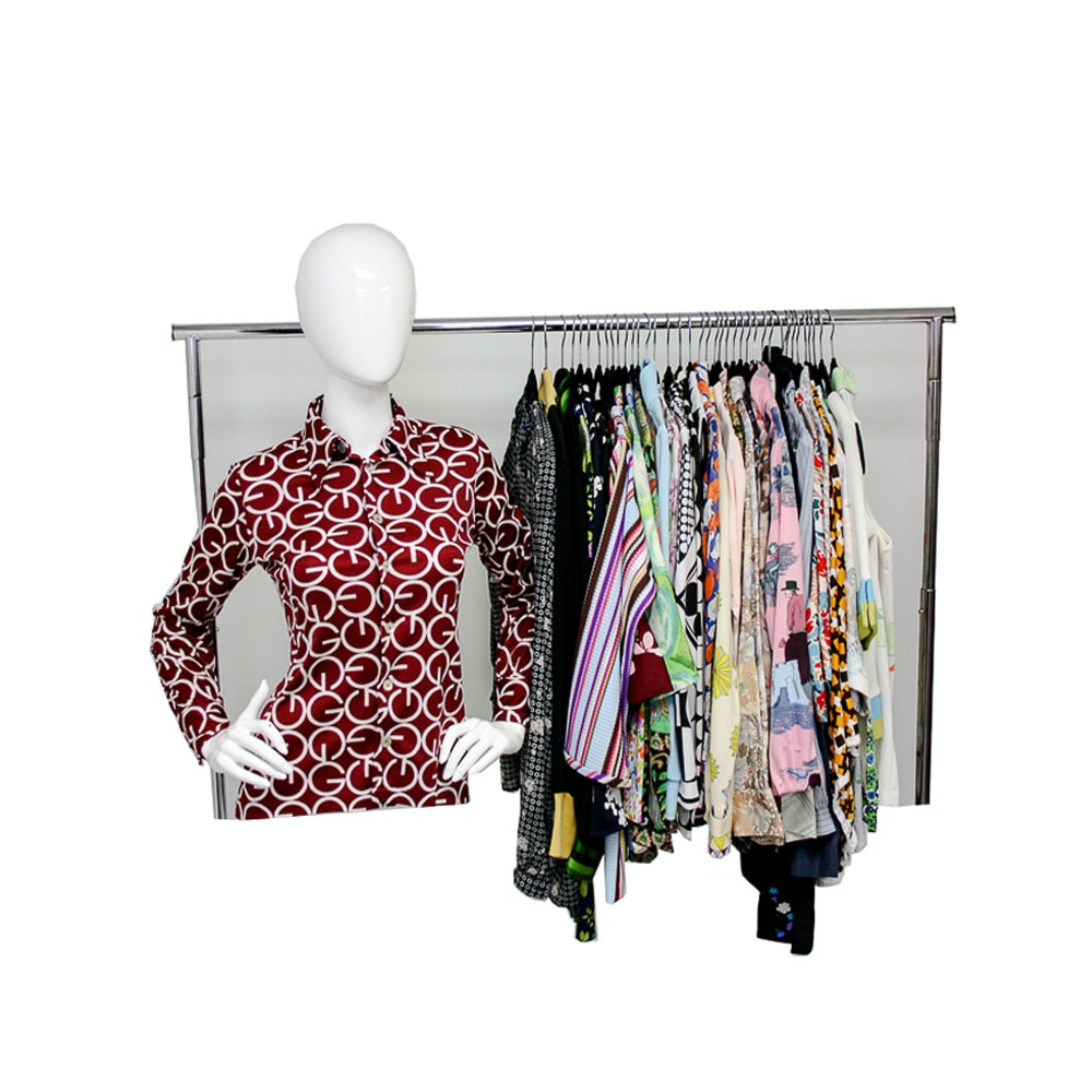 1970s Blouses and Tops Including Givenchy