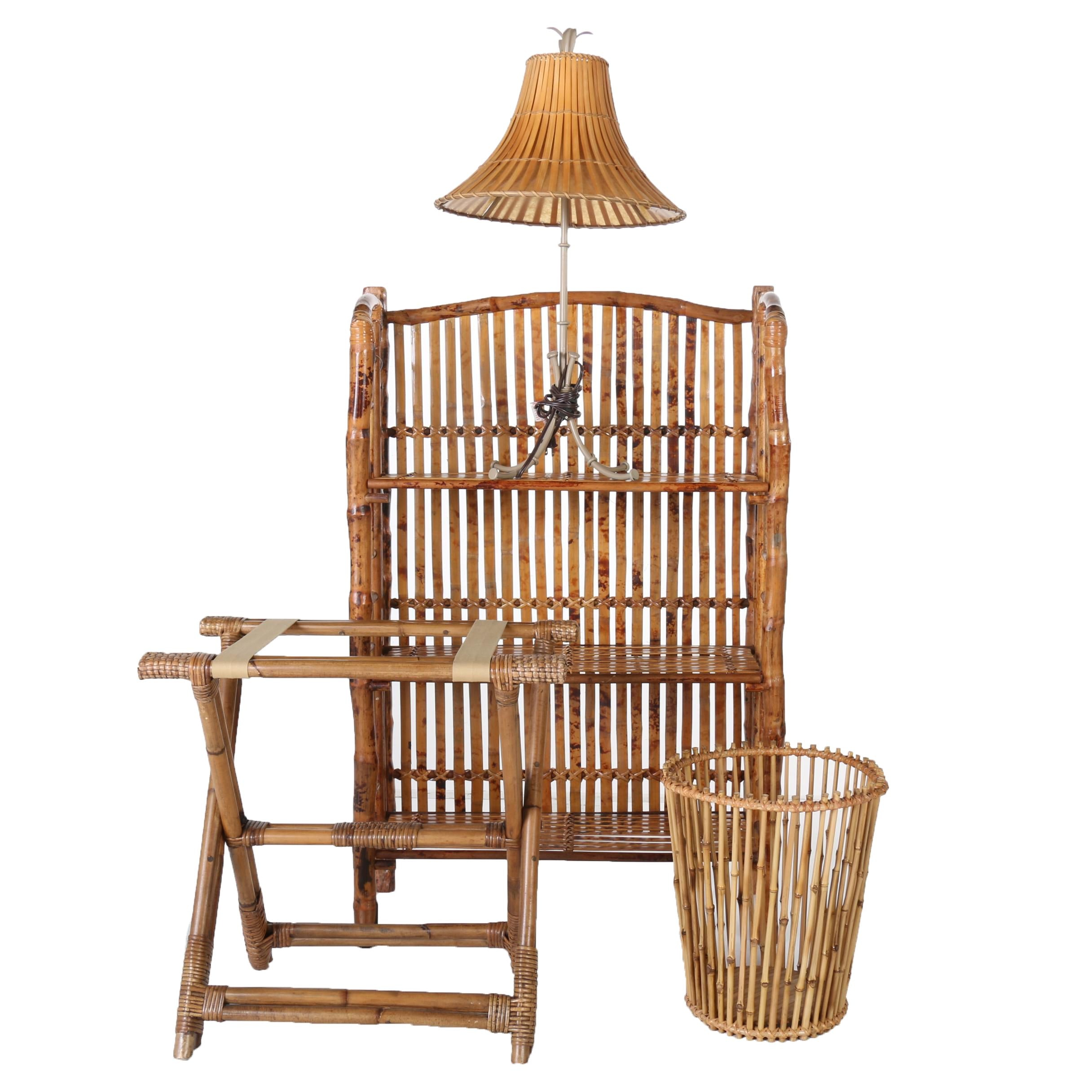 Collection of Wicker Decor