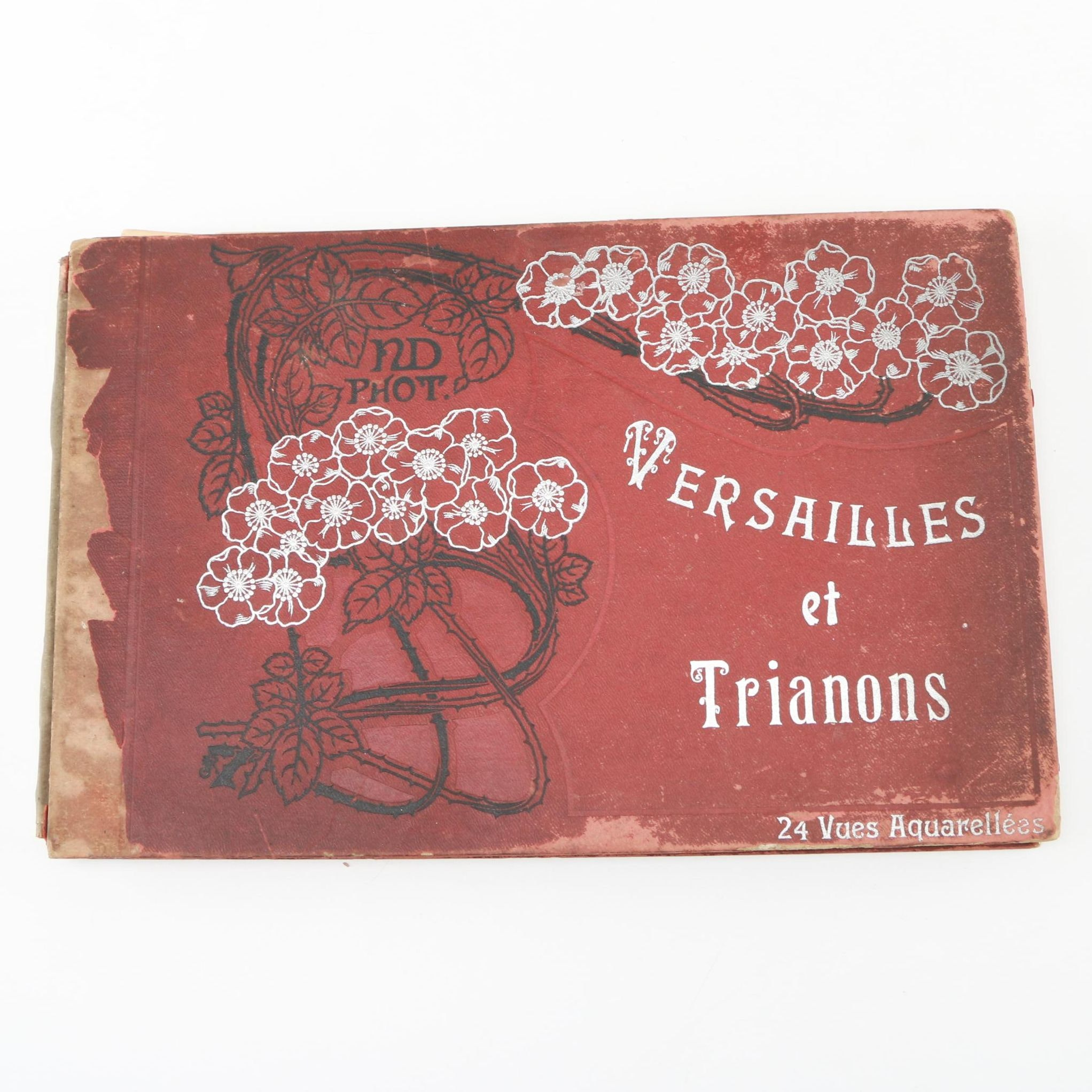 """Circa 1900 French Photogravure Edition of """"Versailles et Trianons"""""""