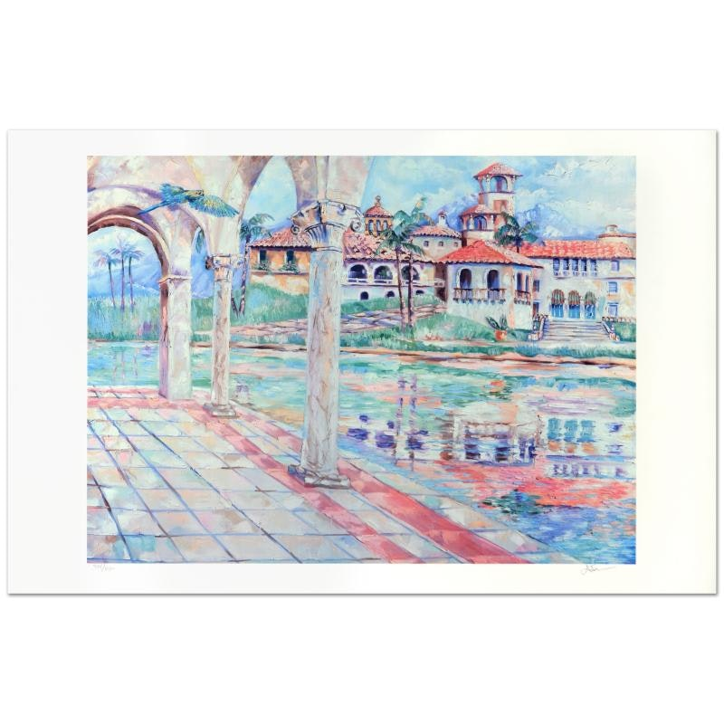 "Adam Limited Edition Offset Lithograph ""Dia Sereno"""