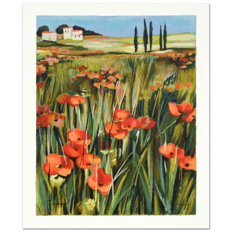 """Yuri Dupond Signed Limited Edition Serigraph """"Home Sweet Home"""""""