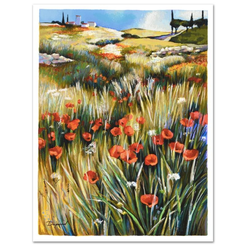 """Yuri Dupond Signed Limited Edition Serigraph """"Country Tranquility"""""""
