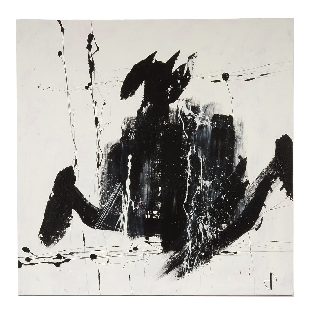 Robbie Kemper Original Abstract Acrylic on Canvas