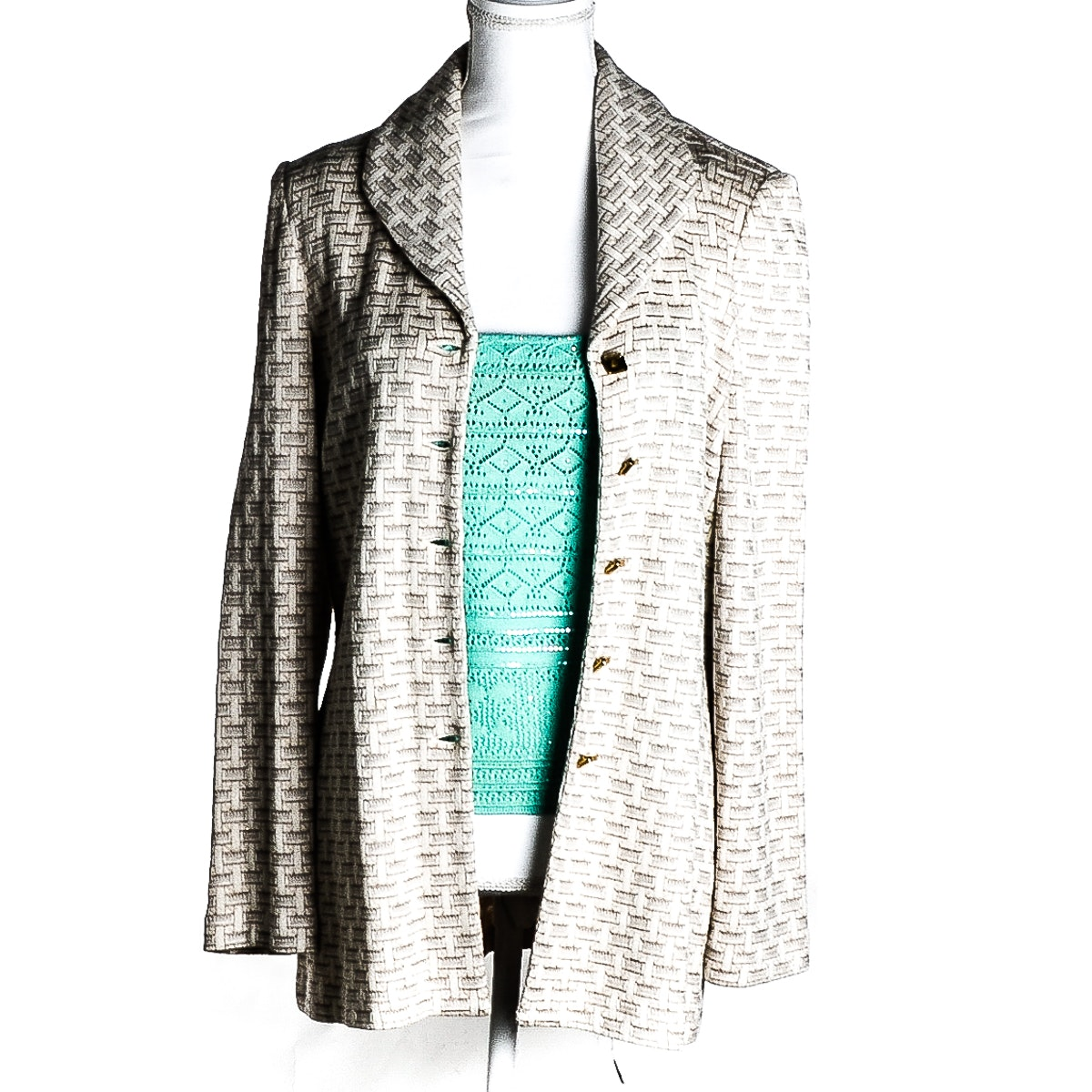 St. John by Marie Gray Top and Jacket