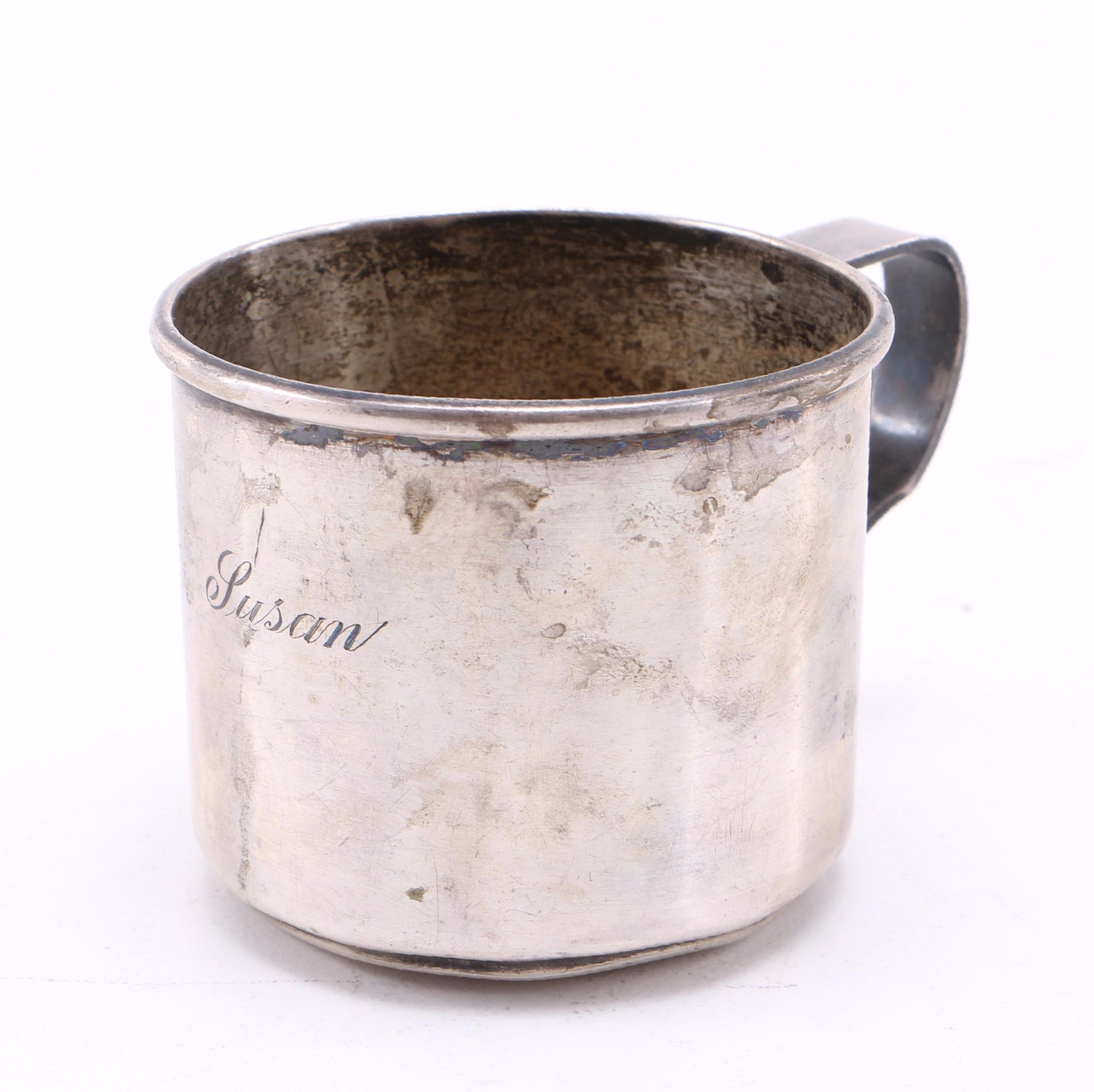 Wallace Silversmiths Sterling Silver Baby Cup