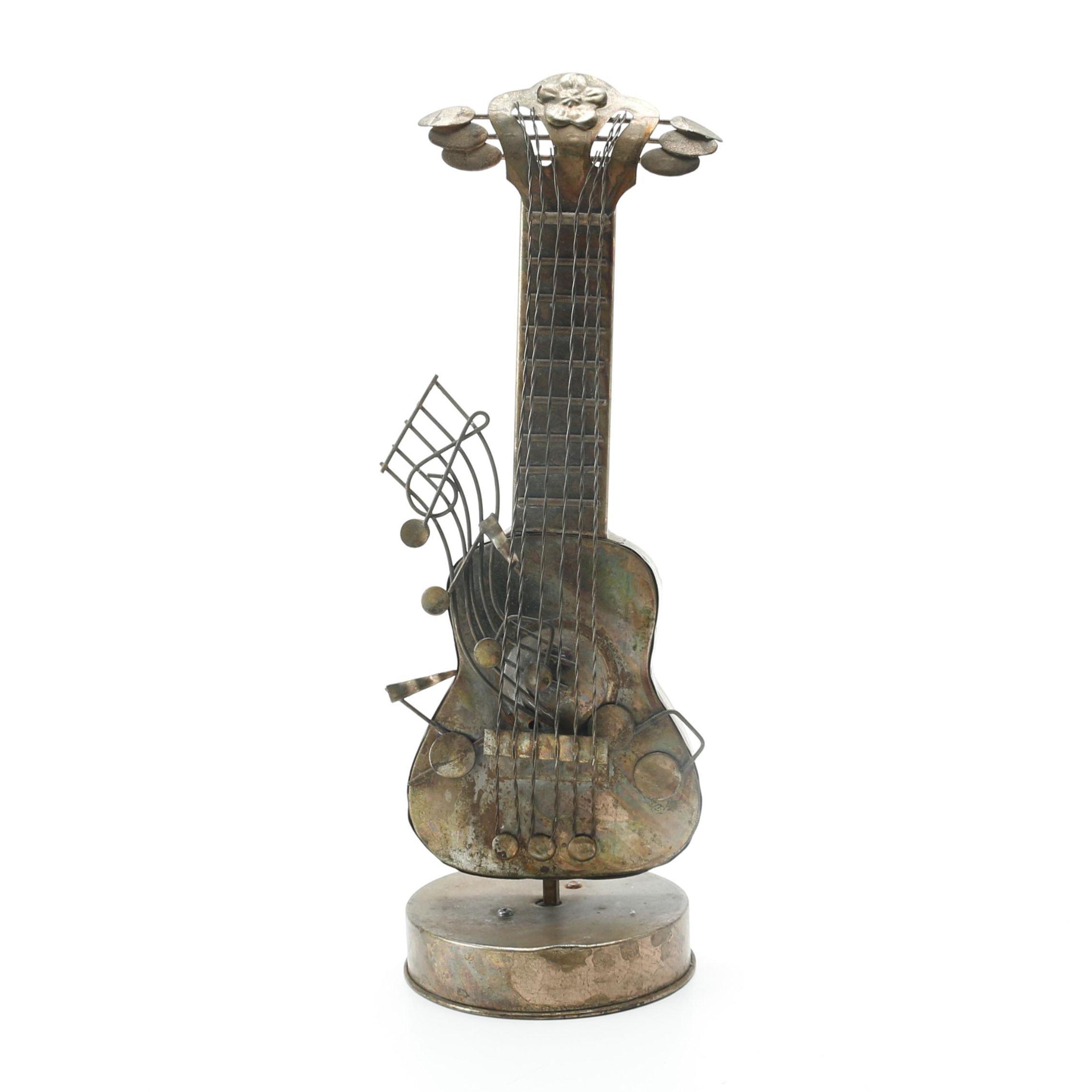 Guitar Theme Music Box