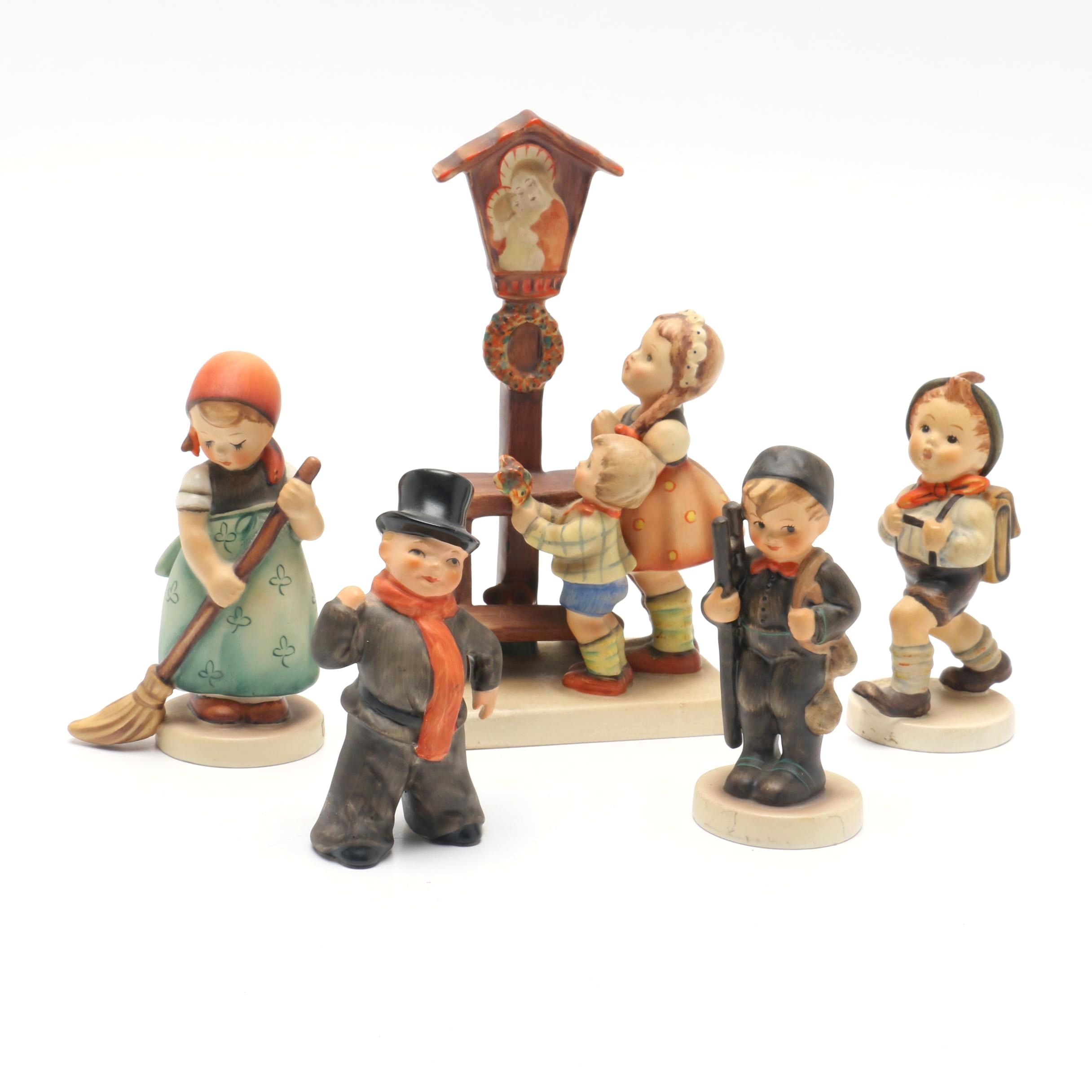 Large Collection of Hummel Figurines