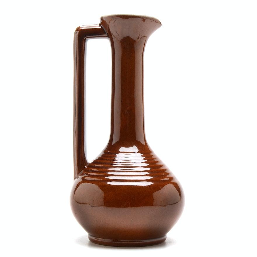 Vintage Frankoma Pottery V 10 Vase Ebth