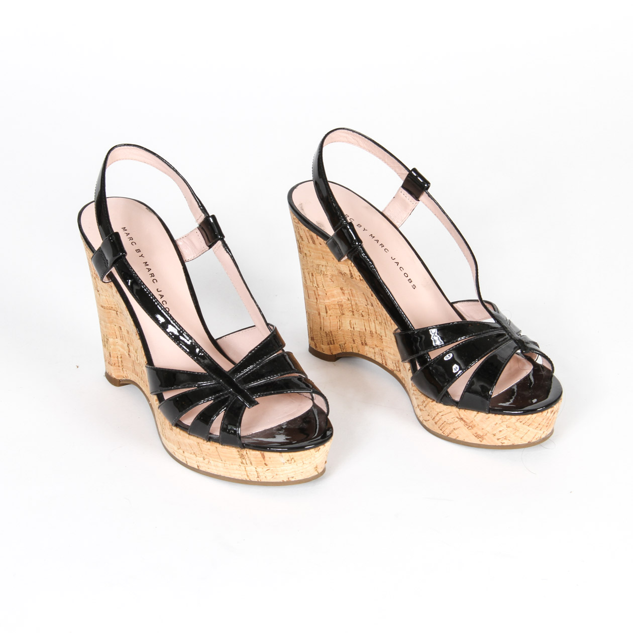 Patent Leather Sandals Jacobs By Wedge Marc SpqVGMUz