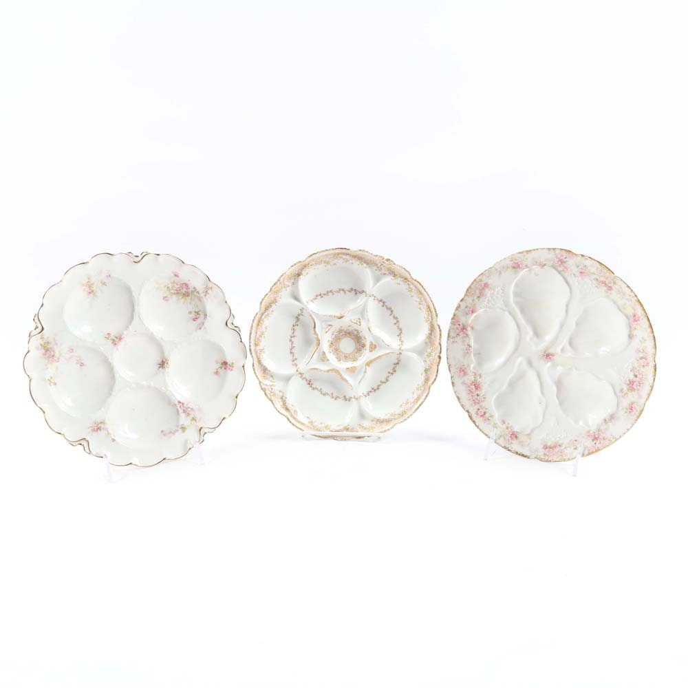 Vintage Haviland Limoges Oyster Plates