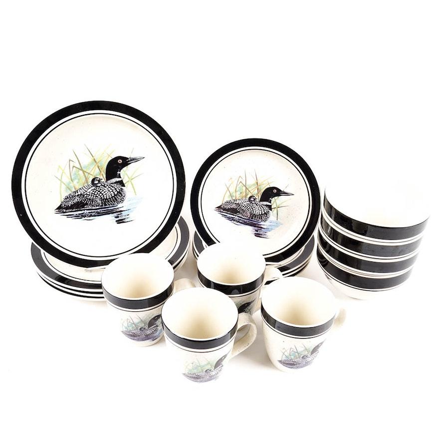 Folkcraft Stoneware Dinnerware \