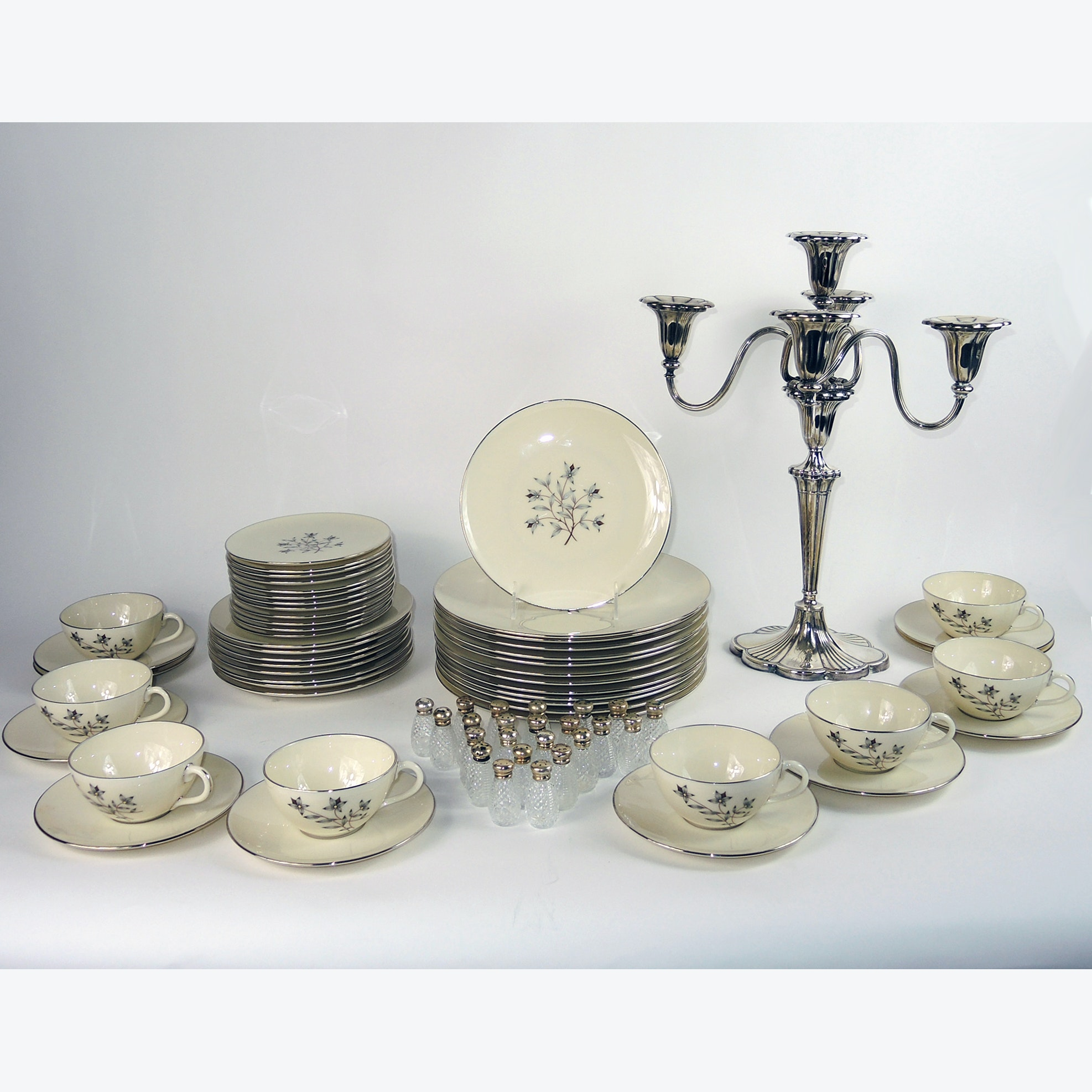 Lenox China, Sterling and Glass Salt and Pepper Shakers and More