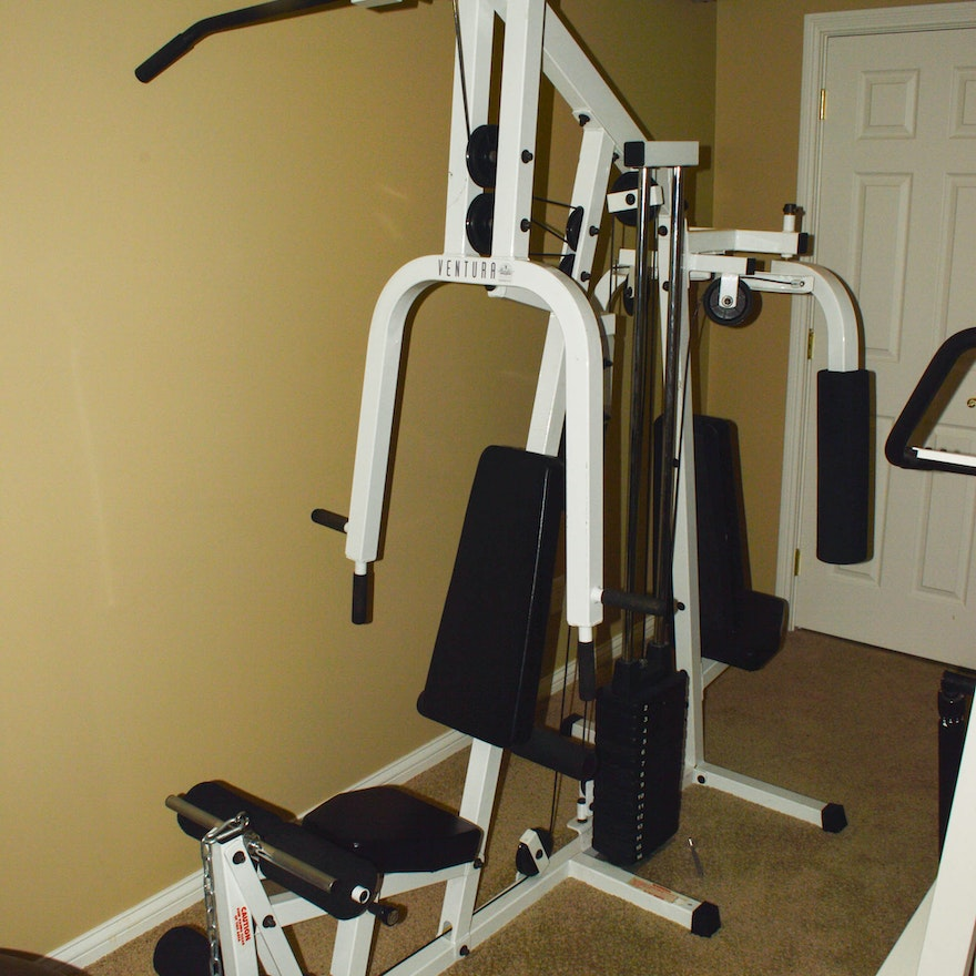 Ventura home gym by pacific fitness ebth