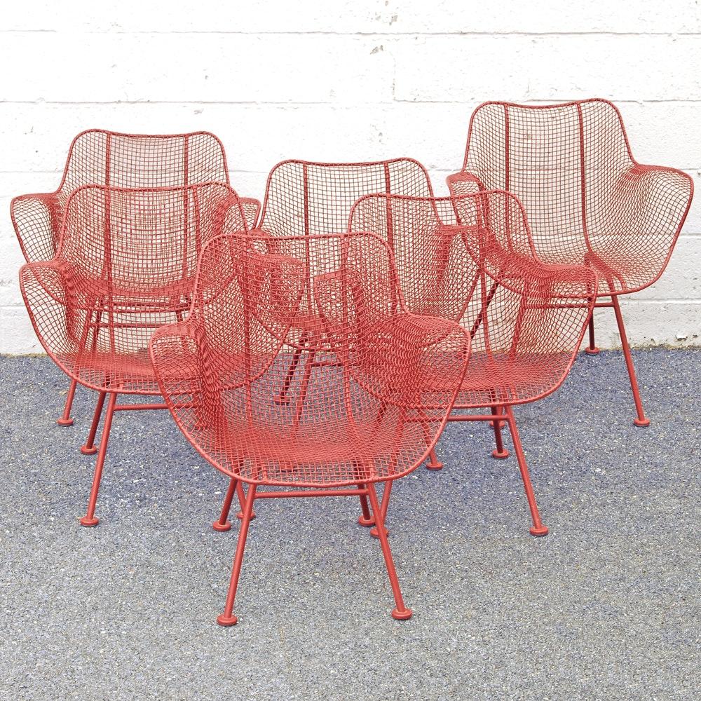 "Mid Century Modern Russel Woodard ""Sculptura"" Lounge Chairs"