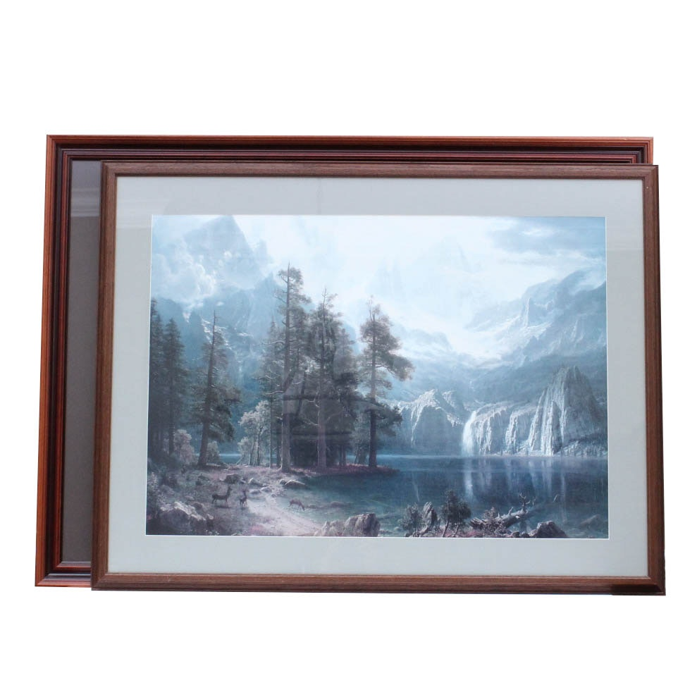 Pair of Nature Themed Offset Lithographs