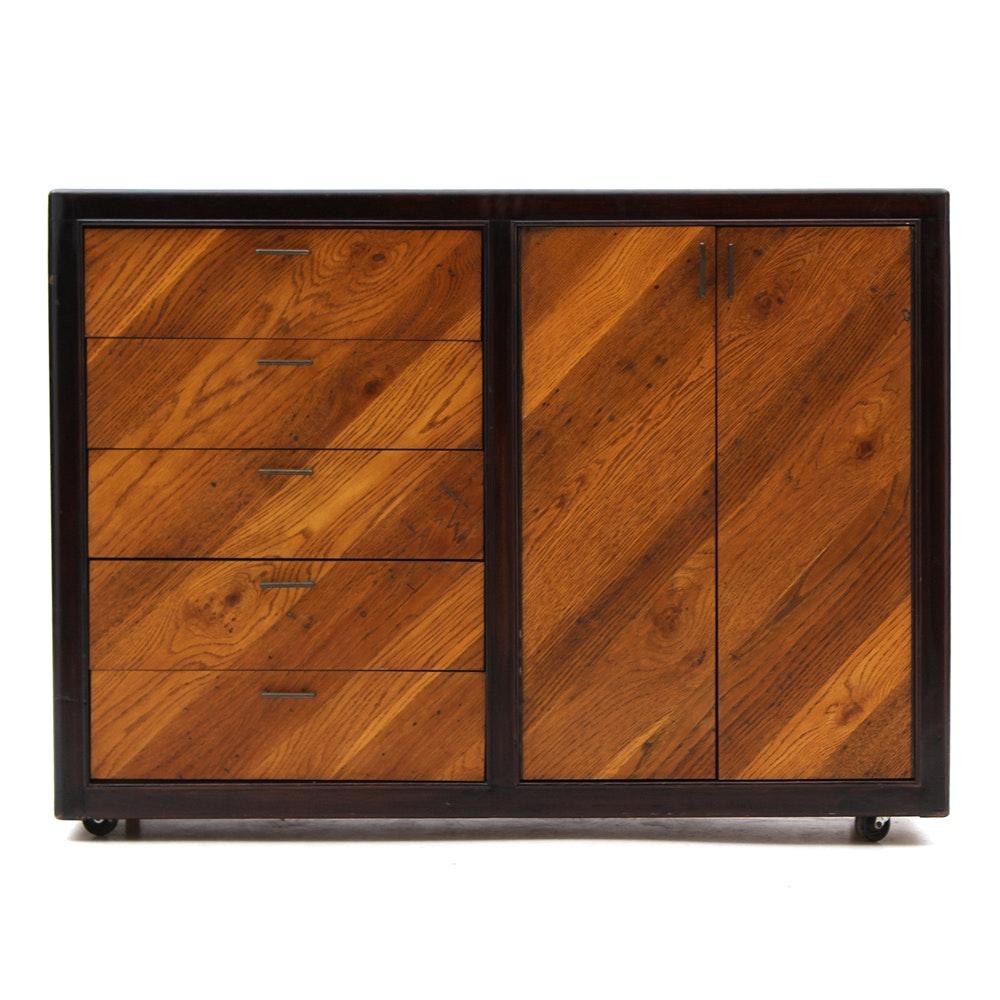 Mid Century Modern Oak Sideboard Ebth