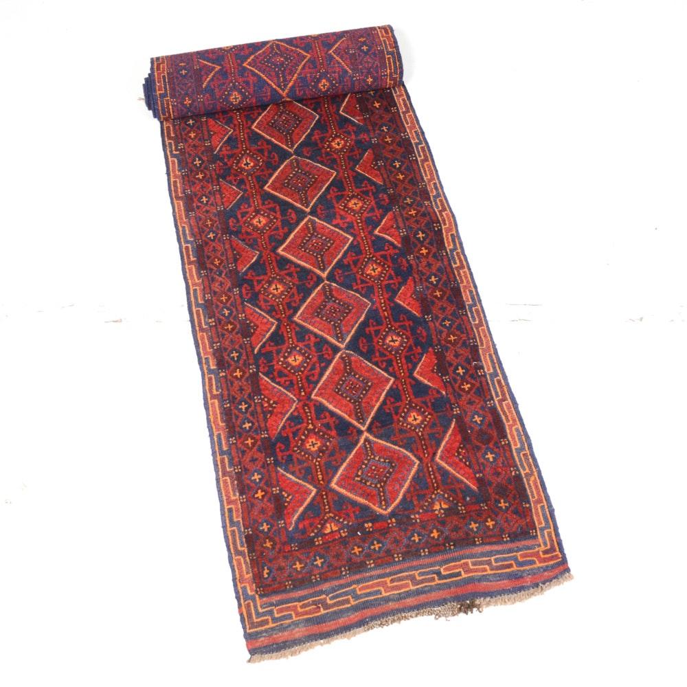 Handmade Northeast Persian Balouch Runner