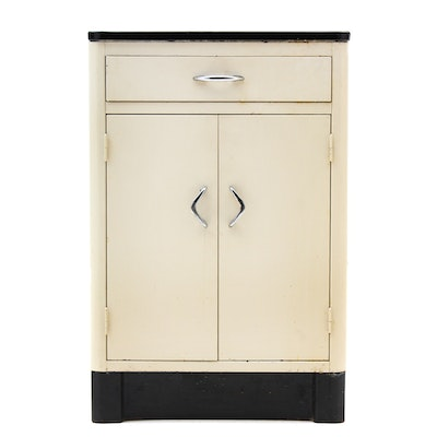 Vintage and antique cabinets auction in art mid century for Auctions kitchen cabinets