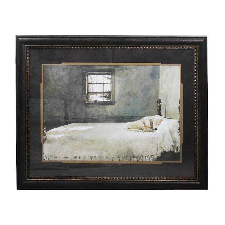 After Andrew Wyeth Print \