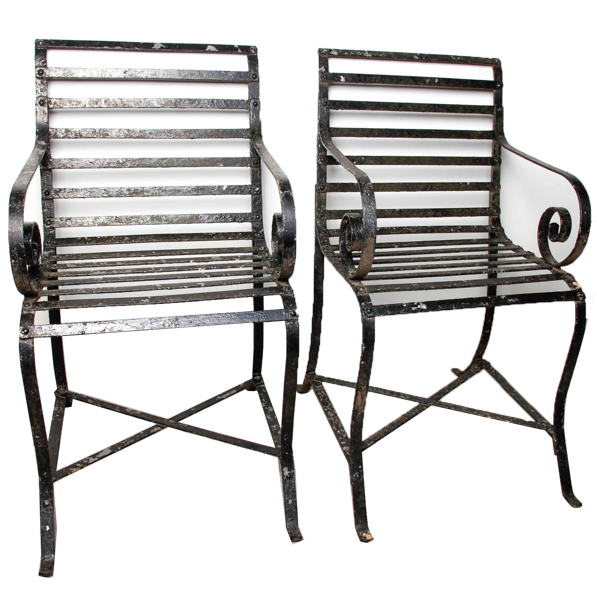 Iron Outdoor Chairs
