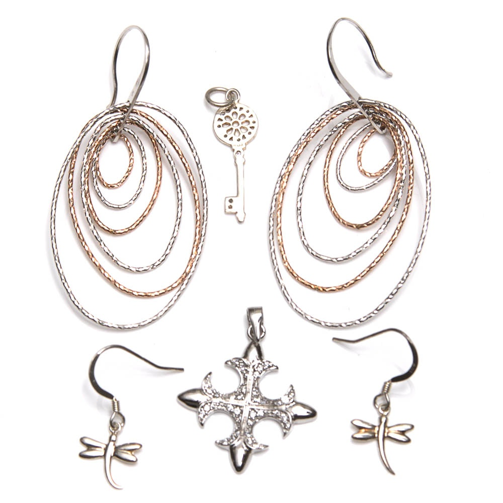 Variety of Sterling Silver Jewelry