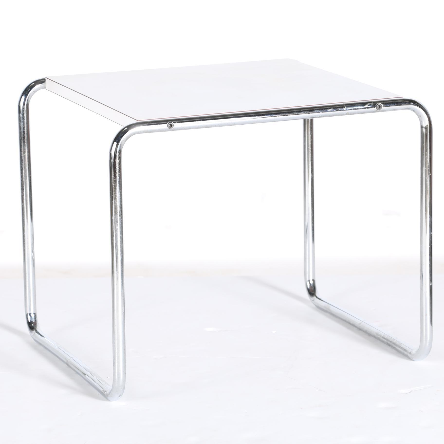 """""""Laccio"""" Coffee Table by Marcel Breuer for Gavina"""